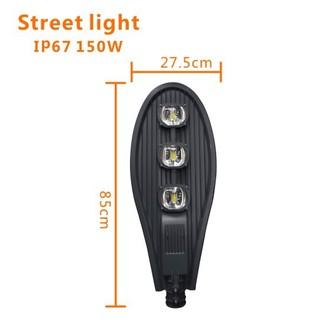 Đèn đường LED hình chiếc lá 150W – sử dụng điện 220V