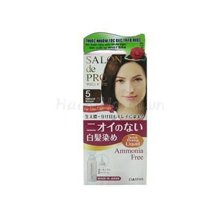 Thuốc nhuộm tóc Salon de Pro Liquid 5 Màu nâu tự nhiên - Hachi Hachi Japan Shop