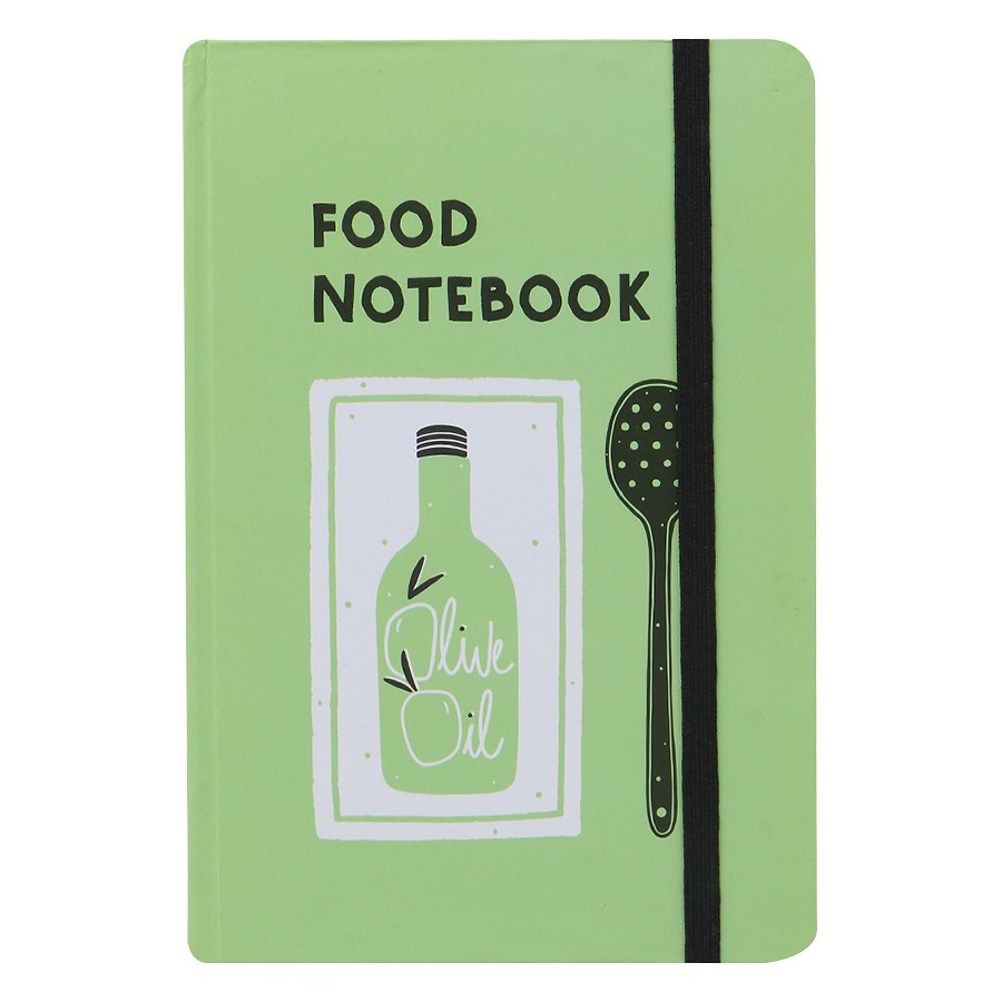 Sổ Tay Kẻ Ngang Crabit Notebuck Food Notebook