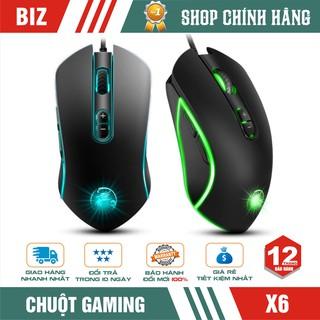 Chuột Gaming IMICE X6 6400 DPI - LED RGB Đổi Màu - Bảo hành 12 tháng thumbnail