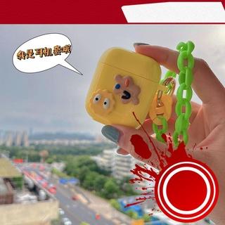 [ Hàng Hot ] Vỏ Bảo Vệ Hộp Sạc Tai Nghe Bluetooth Không Dây Airpods 1 2 Pro Hình Đôi Mắt Sáng Tạo Ốp thumbnail