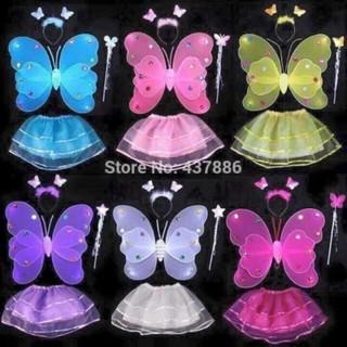 Bộ cánh bướm cho bé mã M2032