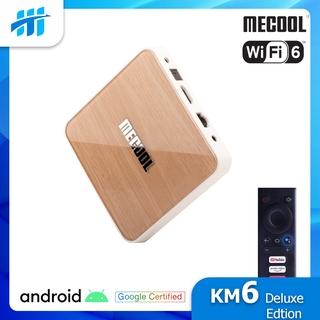 [Mã ELMS5 giảm 7% đơn 300K] Android TV Box Mecool KM6 - Amlogic S905X4, AndroidTV 10 CE