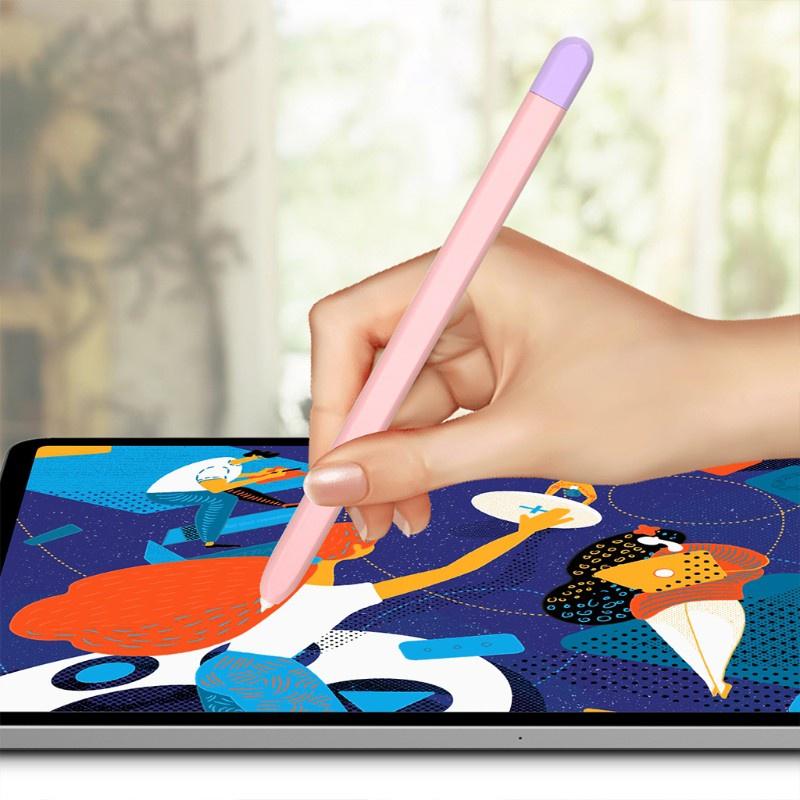 Vỏ Silicon Mềm Nhiều Màu Thời Trang Cho Tab S6 Lite / S7 Touch Pen