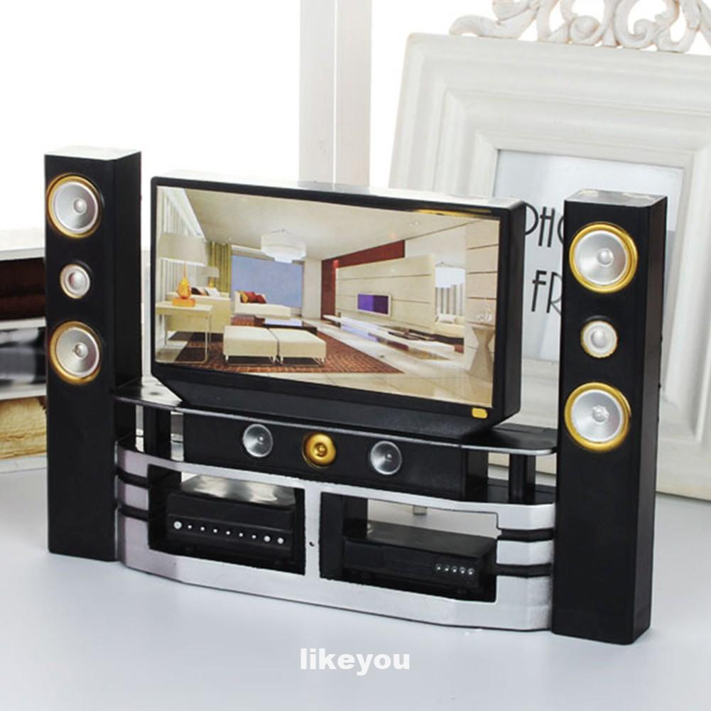 Tv Mini Trang Trí Nhà Búp Bê