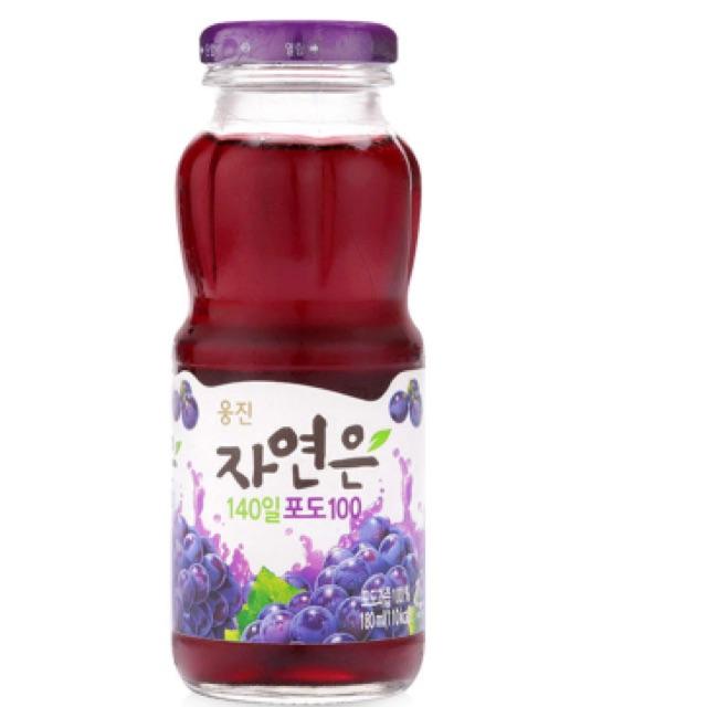 Nước ép nho Woongjin 180ml