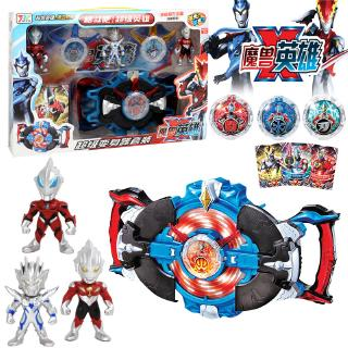 Ultraman Toys With Lighting & Sound For Boys Kids Hadiah Birthday Action Figure Toy Mainan Girl Budak