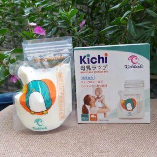 50 túi trữ sữa kichilachi nhật bản tiện lợi 100, 250ml