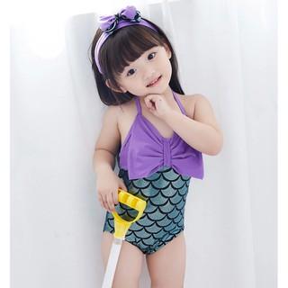 Đồ bơi tiên cá đáng yêu cho bé gái