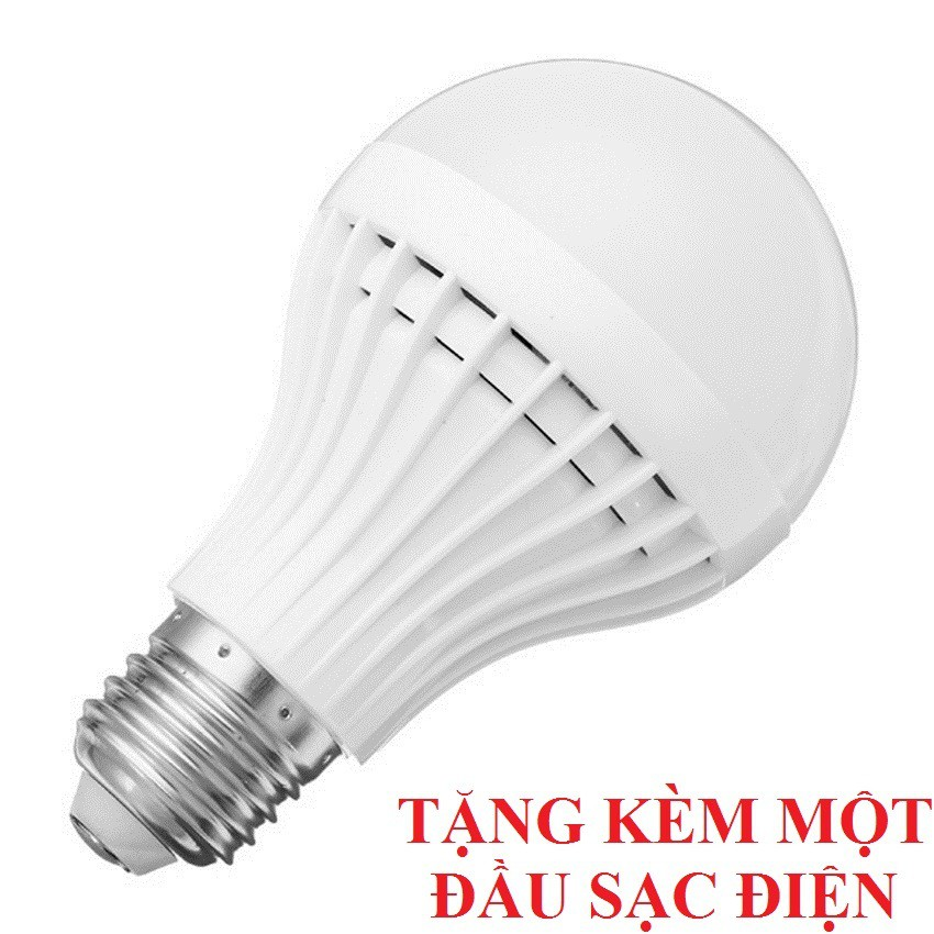Bóng đèn Led cảm ứng tích điện 15W (tặng chui sạc)