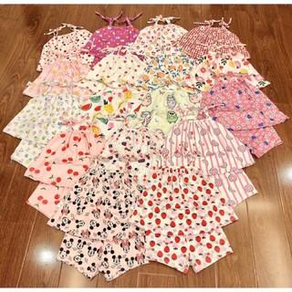 [Mã FAMAYFA2 giảm 10K đơn 50K] Set bộ hai dây vải điều hoà hàng chuẩn shop cho bé mặc hè