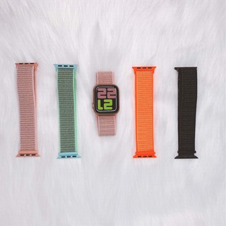 Dây Đeo Apple Watch Nylon Sport Loop 38-40 42-44mm thumbnail