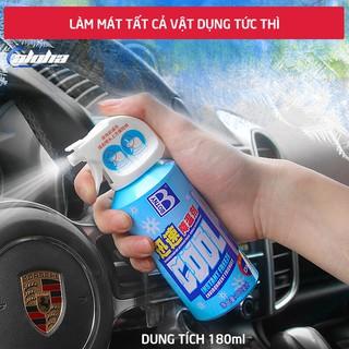 Bình xịt làm lạnh BOTNY COOL - Bình xịt mát cơ thể làm mát không khí nhanh cho yên xe, ghế ngồi ô tô an toàn thumbnail
