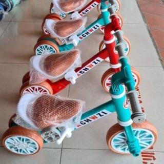 Xe đạp kiêm tròi chân usbon