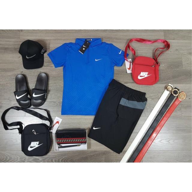 Bộ quần áo thể thao NK kẻ nách mã 301