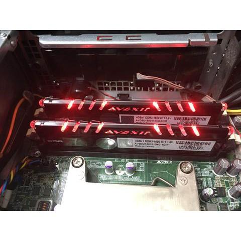 Ram máy tính DDRam III AVEXIR 4GB1600 Tản nhiệt Led