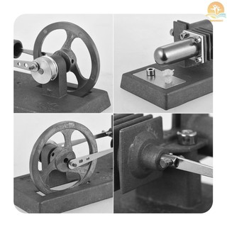 M^M COD STARPOWER Mini Hot Air Stirling Engine Model DIY Kit Experiment Educational Toy Self-assembly