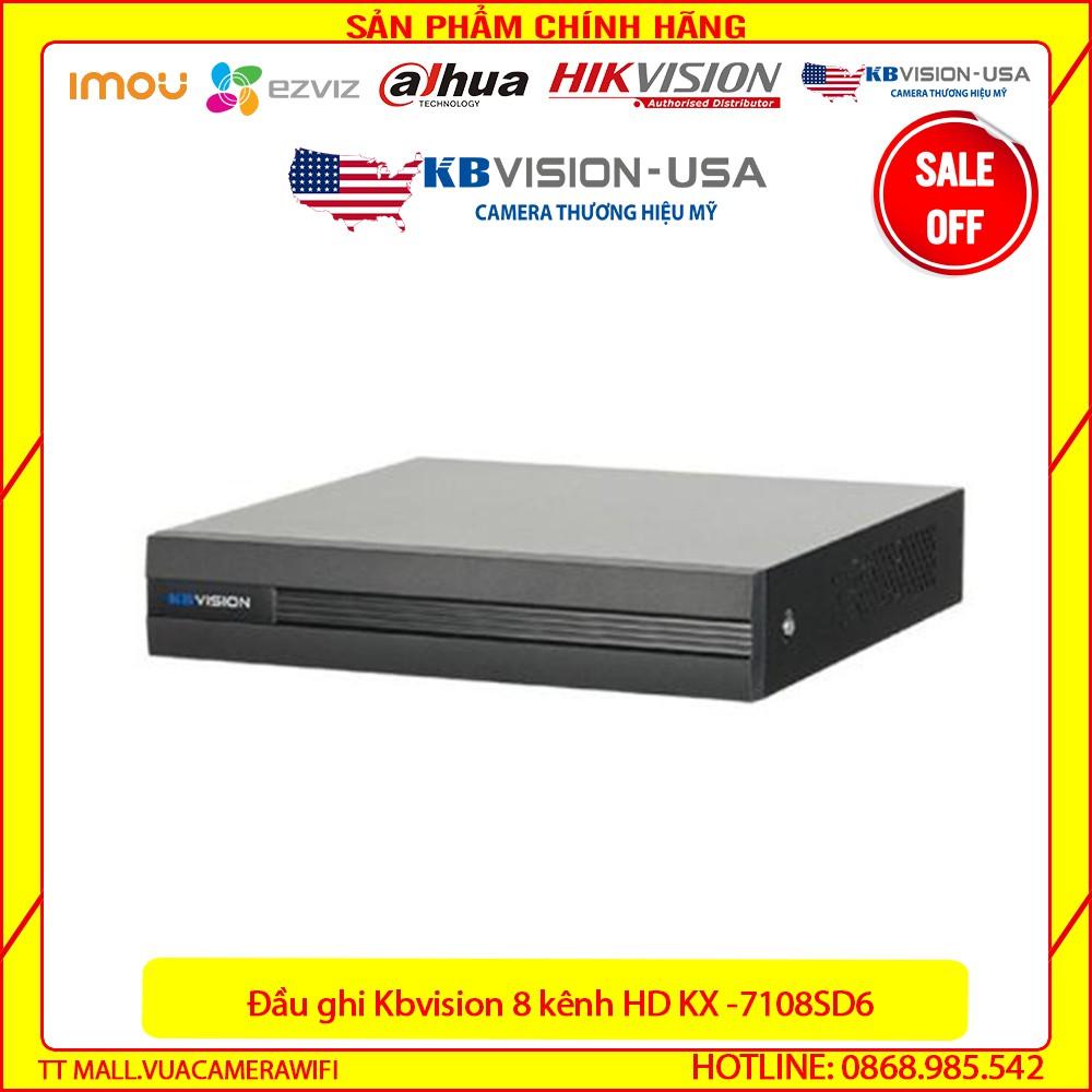 {Giá HỦY DIỆT} Đầu ghi hình 8 kênh 5 in 1 KBVISION KX-A7108SD6 - Bảo hành chính hãng 2 năm