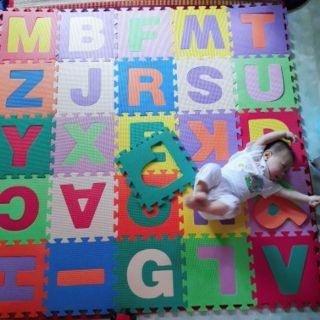 Combo 26 tấm thảm ghép từ A đến Z