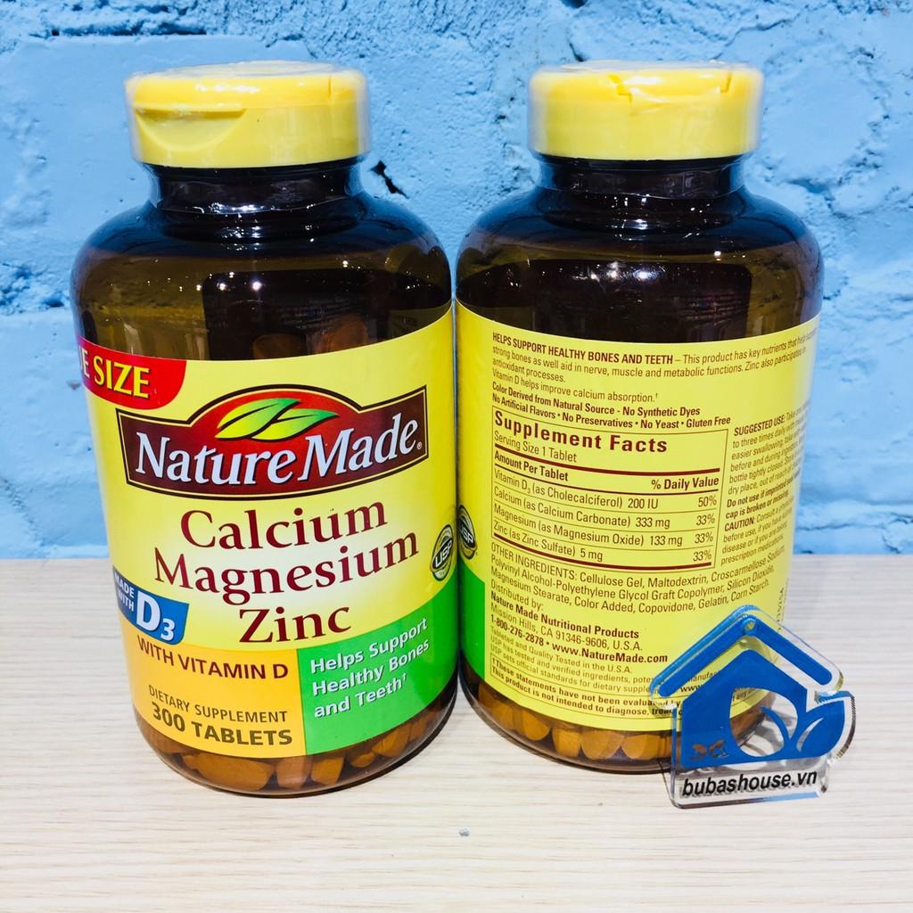 Viên uống bổ sung Calci - Magne - ZinC Nature Made 300v - 2885714 , 995448704 , 322_995448704 , 420000 , Vien-uong-bo-sung-Calci-Magne-ZinC-Nature-Made-300v-322_995448704 , shopee.vn , Viên uống bổ sung Calci - Magne - ZinC Nature Made 300v