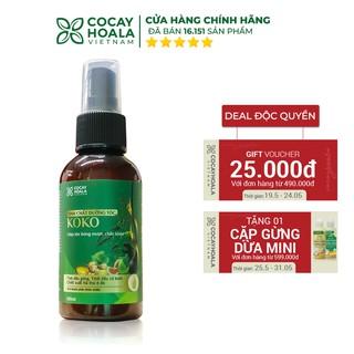 Tinh chất dưỡng tóc KOKO Cocayhoala - Ngăn rụng tóc - Kích thích mọc tóc - Giúp tóc mềm mượt - 100ml thumbnail