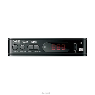 Smart Game HD 1080P Video Multi Language Decorder H.265 DVB-T2 Digital Converter PVR EPG USB2.0 Wifi TV Box