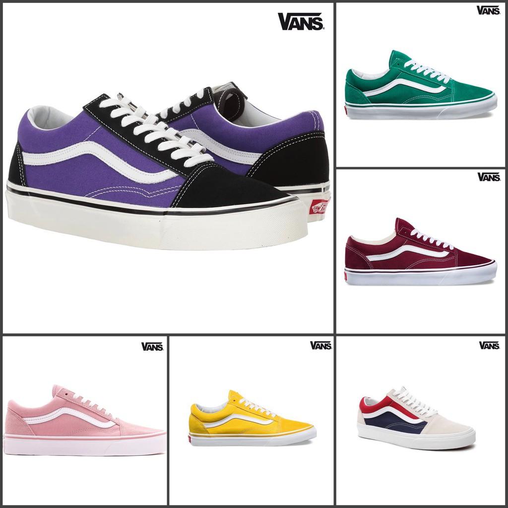 [ Flash SALE ] Giày Sneaker [REAL] Vans-Old-Skool (Các Màu)