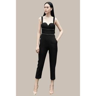 Jumpsuit đen đính thiết kế (2D) Elise thumbnail