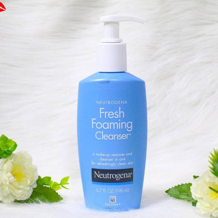(có bill nhập) Sữa rửa mặt tẩy trang Neutrogena fresh foaming cleanser