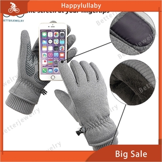 Water-Resistance Winter Thermal Gloves Windproof Touch Screen For Driving Motorcycle