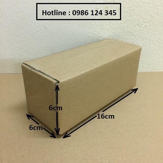16x6x6 Combo 160 hộp carton giá rẻ
