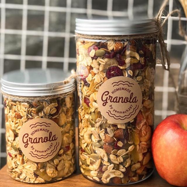 Homemade Granola - Ngũ cốc ăn kiêng (Không đường)