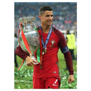 Tấm Áp Phích Treo Trang Trí Nội Thất Hình Cristiano Ronaldo Cristiano Ronaldo