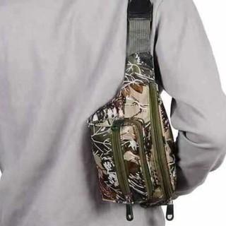 Túi nam đẹp 🎁FREESHIP🎁giảm30k khi nhập mã [TUINAM]Túi đeo ngang hông rằn ri vải ion