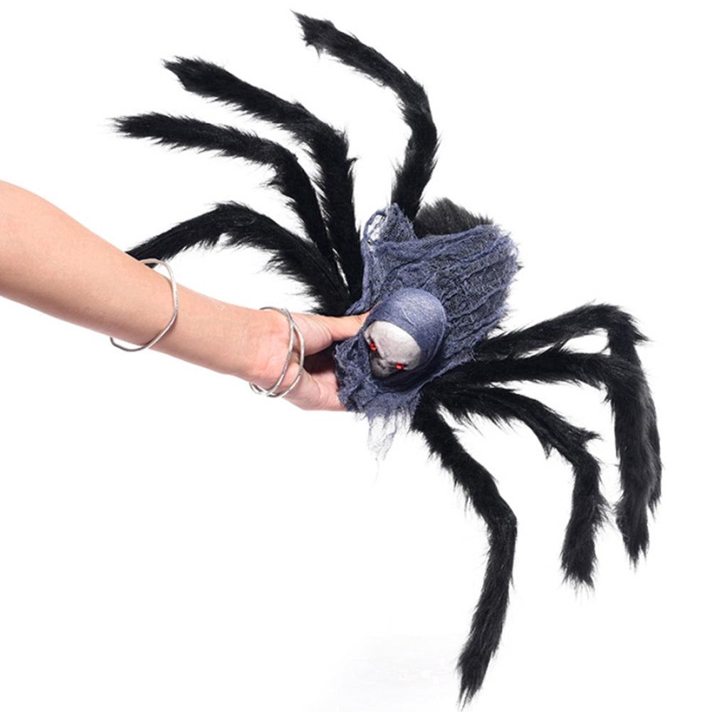 Đồ chơi nhồi bông hình nhện cho Halloween