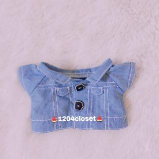 Outfit doll 20cm _ 15cm. Áo khoác jean.