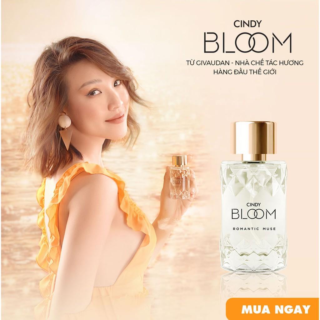 [Mua 2 giảm 20k]Nước Hoa Cindy Bloom Romantic Muse 10ml chính hãng