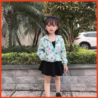 Áo khoác gió trẻ em [ HÀNG LOẠI 1 ] áo gió cho bé đến 40KG chống nước chống gió cho cả bé trai và bé gái thumbnail