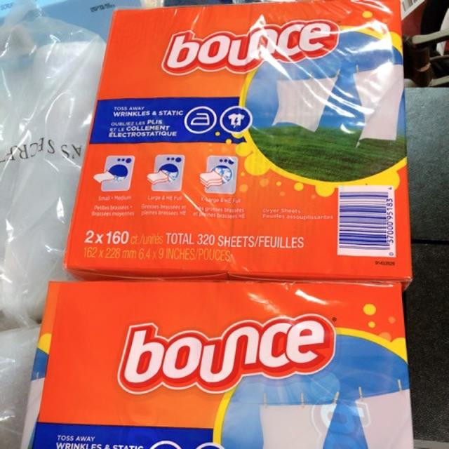 Giấy thơm Bounce hộp 160 tờ