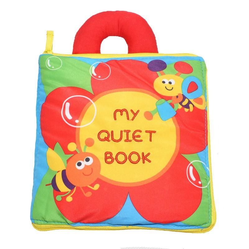 Sách Vải My Quiet Book- Luyện Kĩ Năng Cho Bé