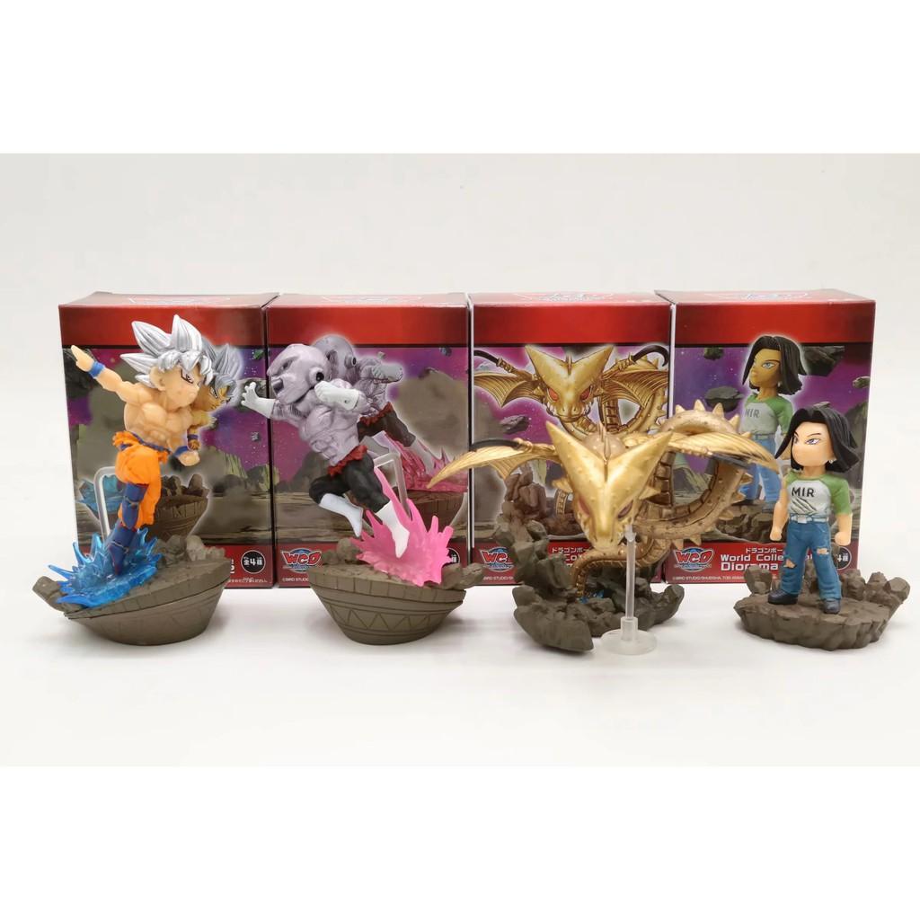 set 4 mô hình đồ chơi bằng kim loại dành cho các bé