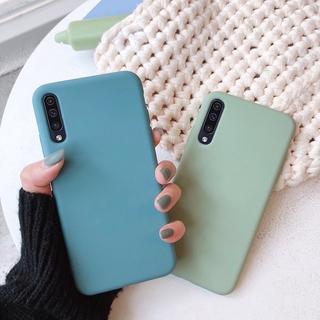 Ốp Điện Thoại Silicone Mềm Màu Trơn Mặt Nhám Cho Samsung Galaxy A50 A30S A50S A70 A20 A30 A10S A20S 3