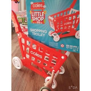 [Cao 57cm, Chắc chắn] Hộp đồ chơi xe đẩy siêu thị cao cấp dành cho bé . Sản phẩm cam kết y hình,