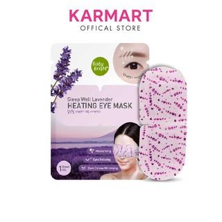 Mặt nạ tạo nhiệt giảm quầng thâm và bọng mắt Baby Bright Sleep Well Lavender Heating Eye Mask 15g thumbnail
