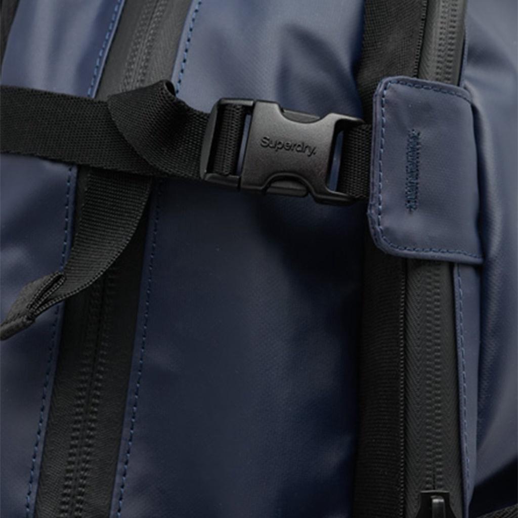 Ba lô nam SUPERDRY Sport Code Tarp Backpack SDM911412A *SD11S màu xanh navy