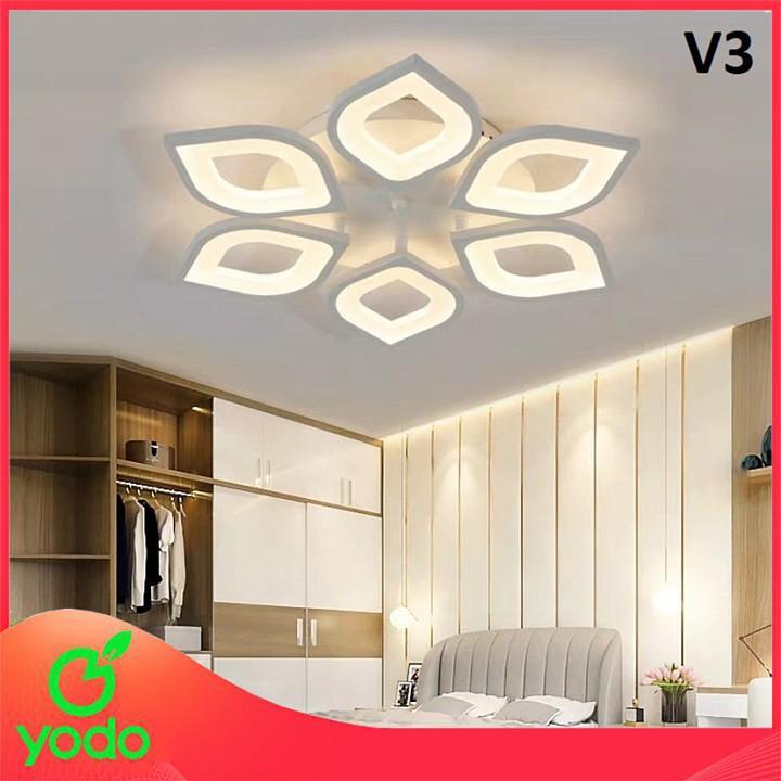 Đèn trần trang trí hiện đại - Đèn ốp trần phòng ngủ, phòng khách