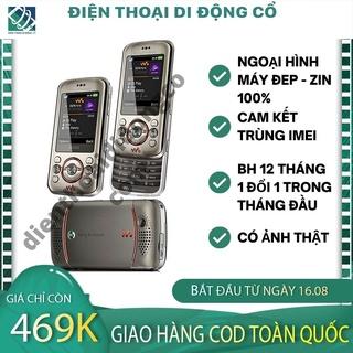 CÓ ẢNH THẬT Điện Thoại Cổ Sony Ericsson W395i NẮP TRƯỢT THỜI THƯỢNG - BH 12 THÁNG 1 ĐỔI 1 TRONG 1 THÁNG ĐẦU TIÊN. thumbnail