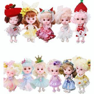 Mô hình búp bê Barbie Fairy Series BJD 14cm dễ thương