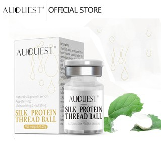 AUQUEST Face Serum Silk Protein Thread Ball Hydration Anti Acne Anti Wrinkle Moisturizing Skincare Beauty thumbnail