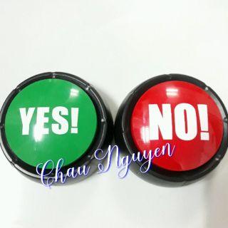 Chuông bấm Yes No (cặp)